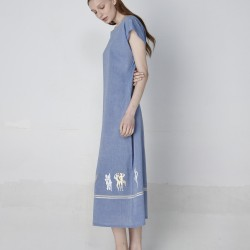 BLUEBERRIES - KAFTAN LONG